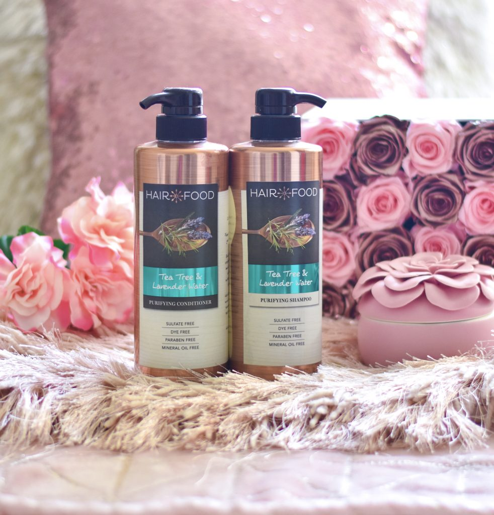 Hair Food Tea Tree & Lavender Water Shampoo and Conditioner