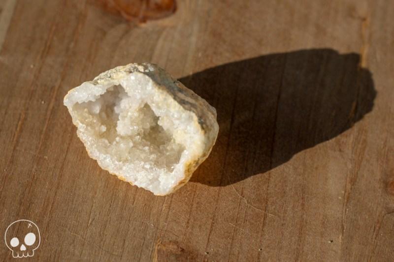 cailloux pierre stone Géode de quartz