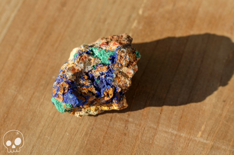 cailloux pierre stone Azurite Malachite