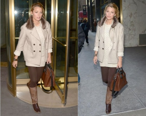 Blake Lively in Bruno Cuccinelli