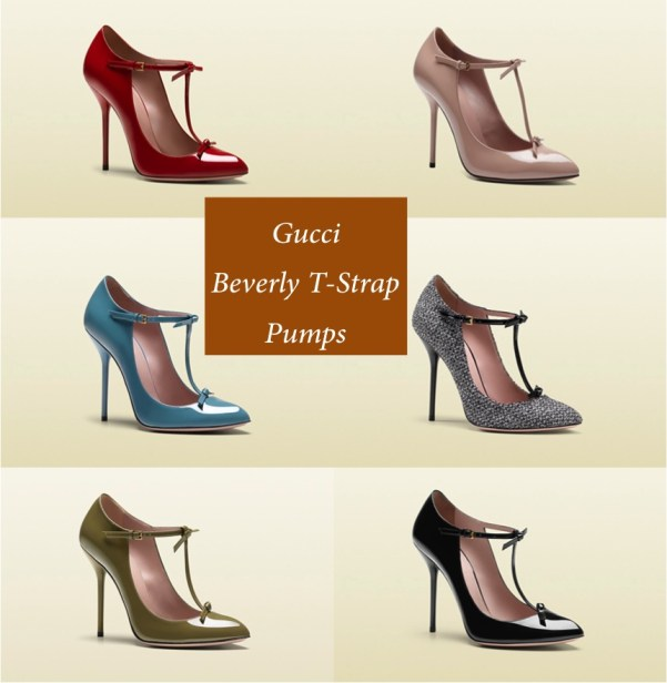 Gucci Beverly T-Strap