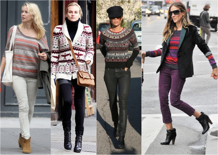 Shop 30 Of The Coolest Fair Isle Sweaters - Glamazon Diaries