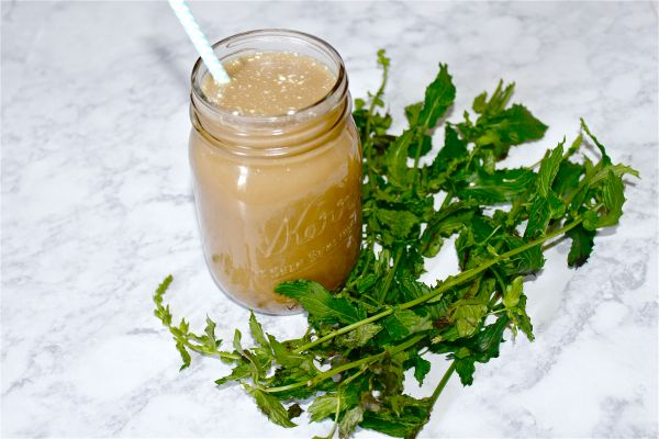 How to Make Mint Simple Syrup 2