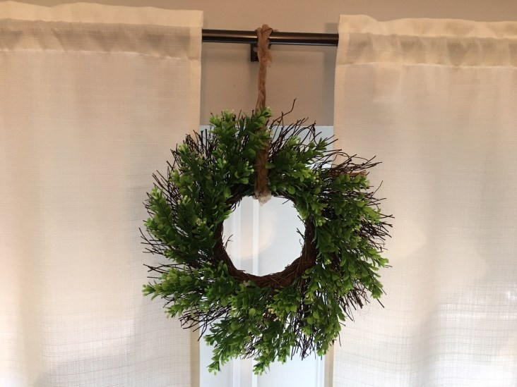 Run to TJ Maxx and see if you can still snag one of these 10 in Box wood wreaths for $8