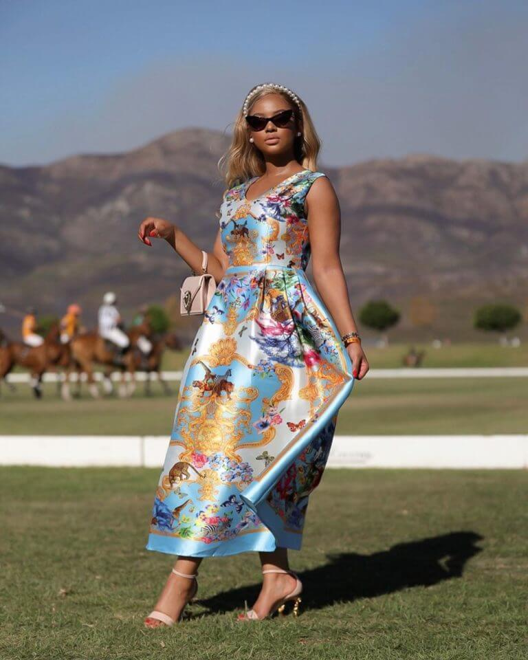 Mihlali Ndamase Is About To Spice Up Your Weekend With Her Veuve Cliquot Polo Event | Video 2