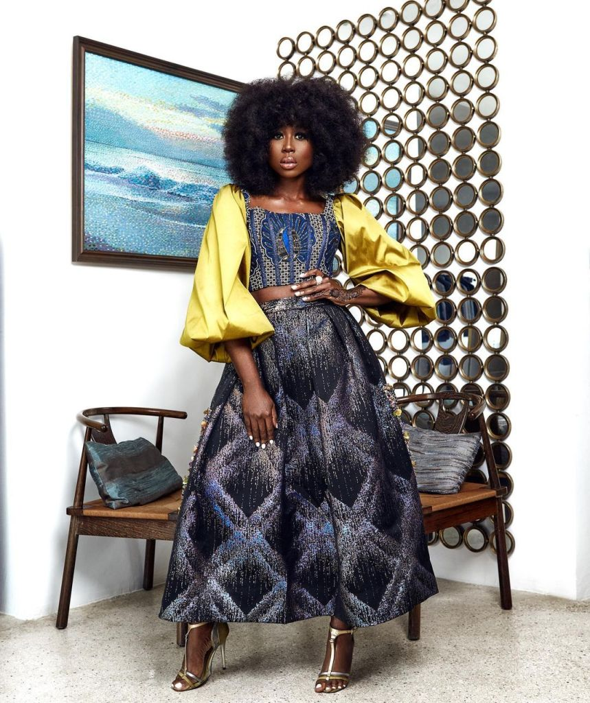 4Sika Osei Started Off 2021 In Two Made In Ghana Outfits That Deserve Your Attention