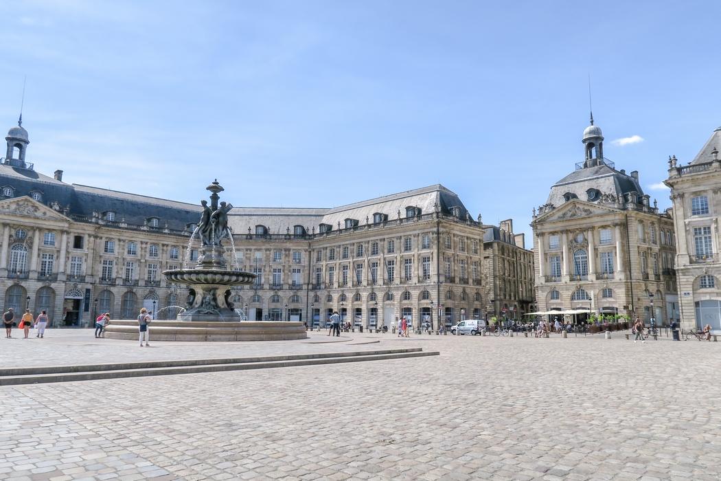 Bordeaux, la place de la Bourse