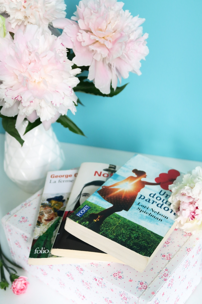 Dans cette chronique culturelle, je vous présente 3 romans à dévorer et 2 films pour s'évader, se faire du bien, vibrer. A mettre dans son planning bien-être pour s'alléger l'esprit. George Orwell, Amélie Nothomb, Lori Nelson Spielman (Un doux pardon) et côté films : Ballerina et Bridget Jones baby.
