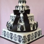 matrimonio bianco e nero torta Glam Events 1
