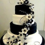 torta bianca e nera Glam Events 1
