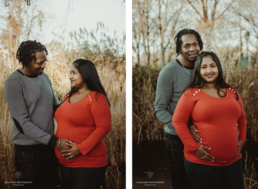Glam Fairy Photography-session pregnancy in winter