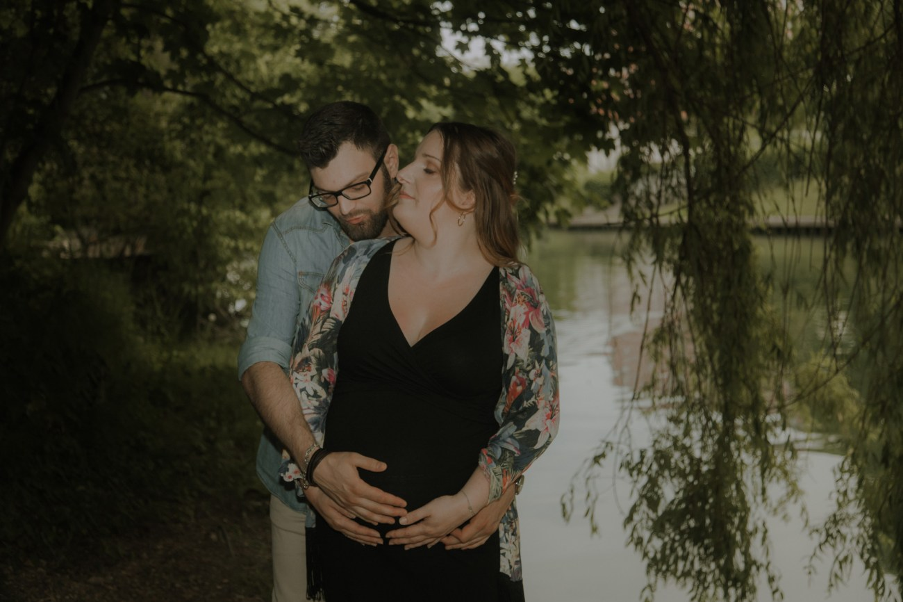 Glam Fairy Photography - session pregnancy on the edges of marne