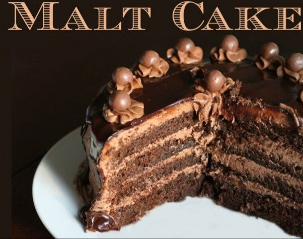 Chocolate Malt Cake…