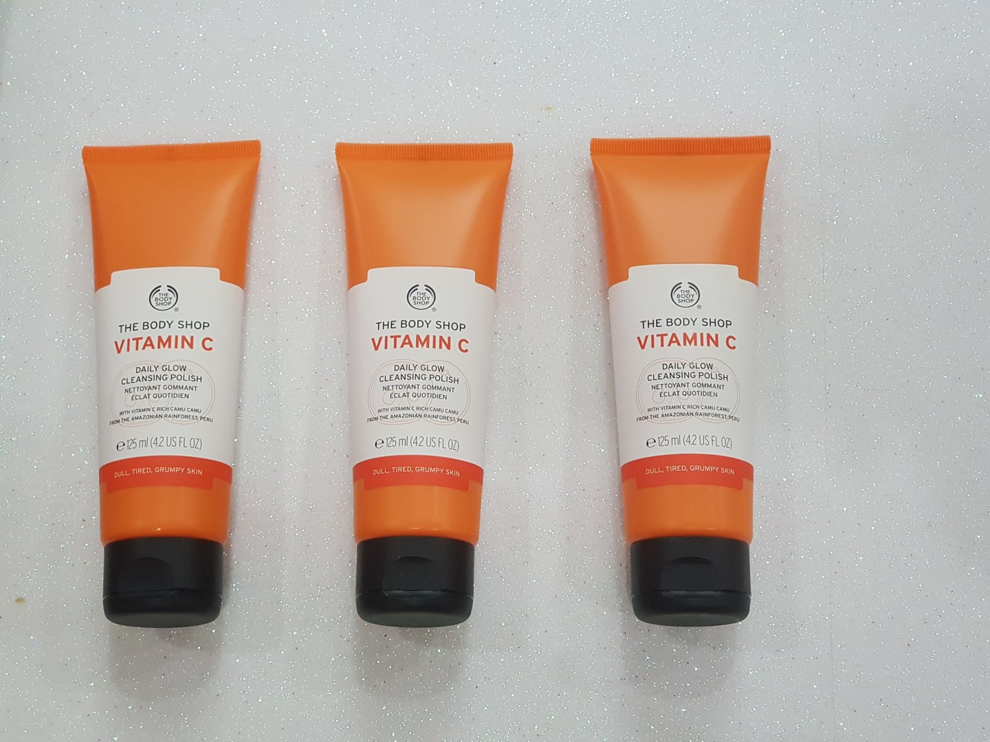 The Body Shop Vitamin C Daily Glow Cleansing Polish And Glow Boosting Moisturiser Review