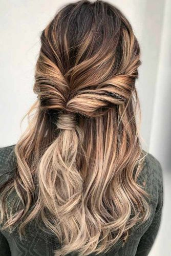 Twisted Hairstyles for Romantic Look picture3