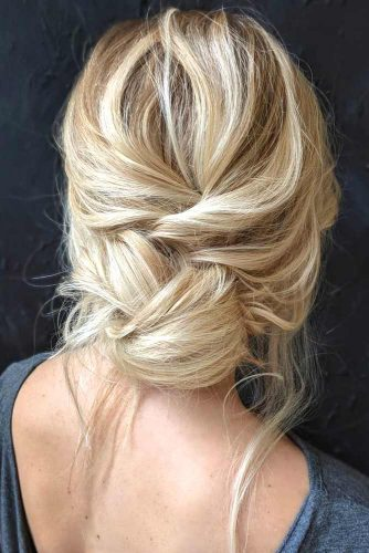Simple Updo For Medium And Long Hair picture2