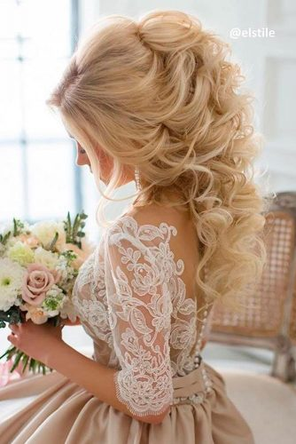 Luxury Wedding Hairstyle for Long Hair