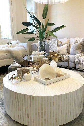 impeccable coffee table decor for your