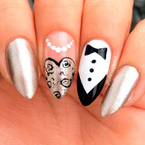 Marvelous Wedding Nail Ideas For Your Big Day