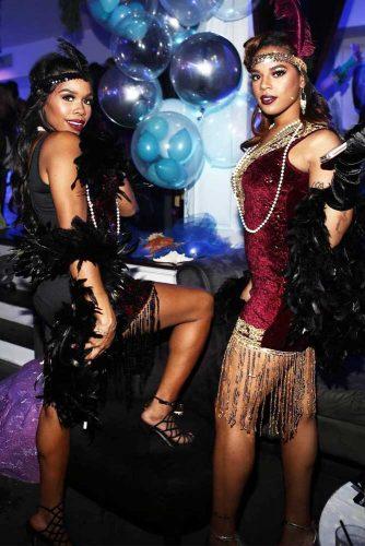 Great Gatsby Best Friends Halloween Costume #bff #greatgatsbycostume
