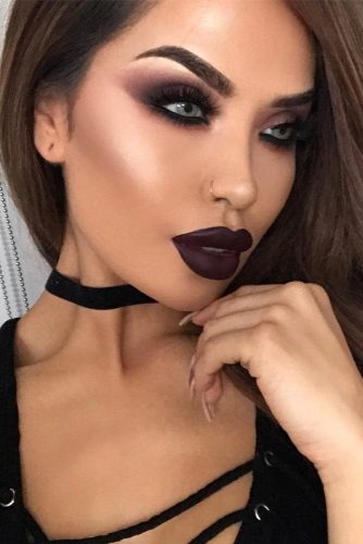 Pretty Vampire Halloween Makeup Ideas picture 1