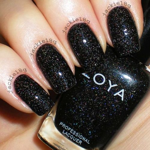 Simple Glitter Nails Designs picture 2