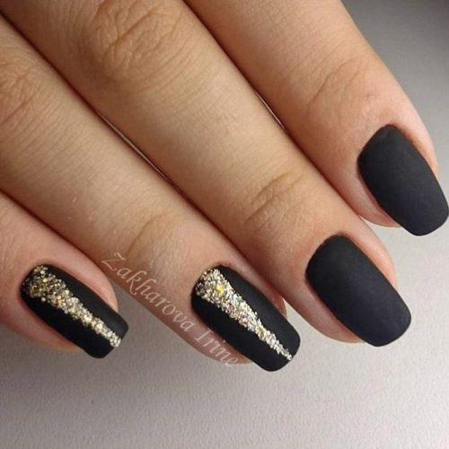 Simple Glitter Nails Designs picture 5