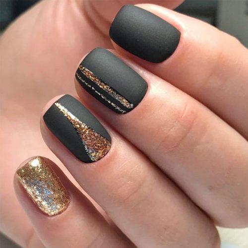 Simple Glitter Nails Designs picture 1