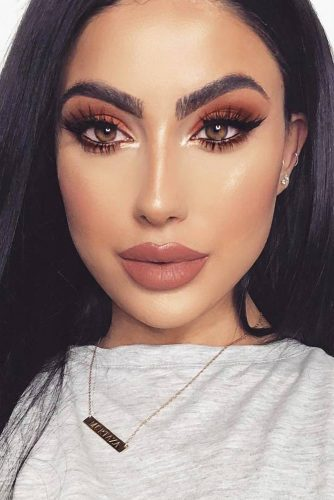 Perfect Eyebrows Shape With Makeup Ideas picture 4