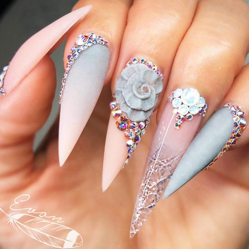 Trendy Nail Designs For Your Pointy Nails To Look Chic Crazyforus