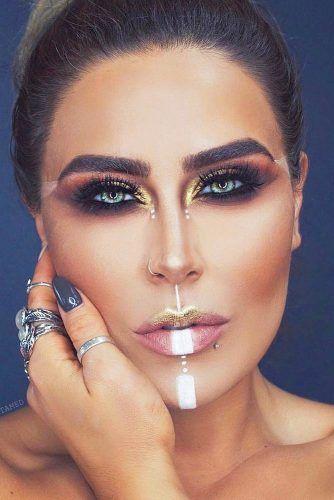 Minimal Tribe Makeup #smokey