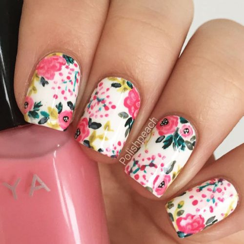 12 Super Pretty Flower Nail Designs Crazyforus