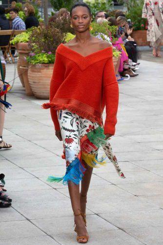 Oscar De La Renta Spring Collection On New York Fashion Week #oscardelarenta