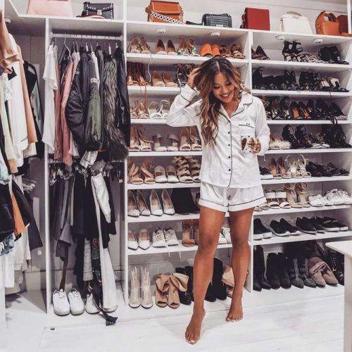 Closet Shoes Space Storage #closetshoestorage