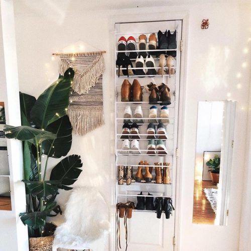 Door Shoes Rack Design #doorshoeorganizer