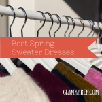 Best Spring Sweater Dresses