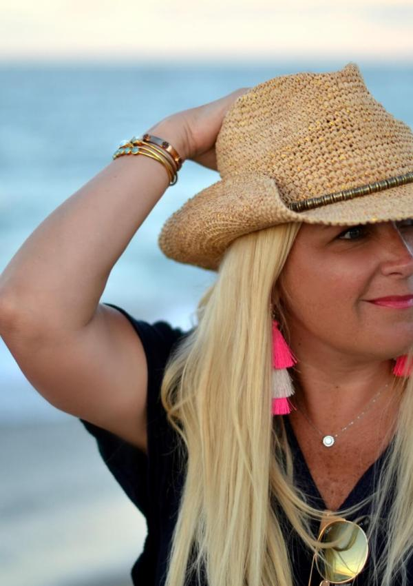 The Perfect Summer Hat with Soft Surroundings