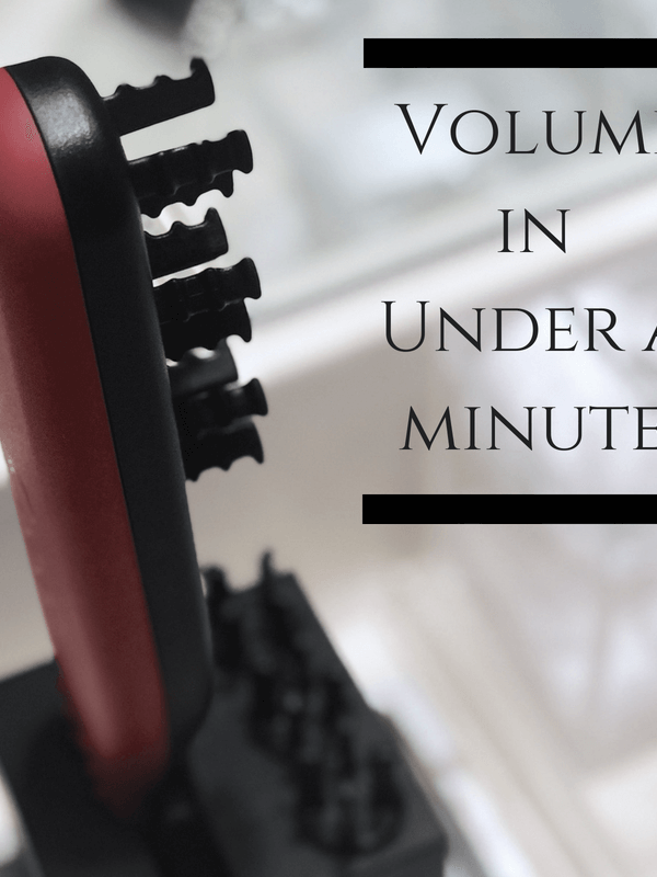 Styling Tool for Volume in Under a Minute (no heat required)