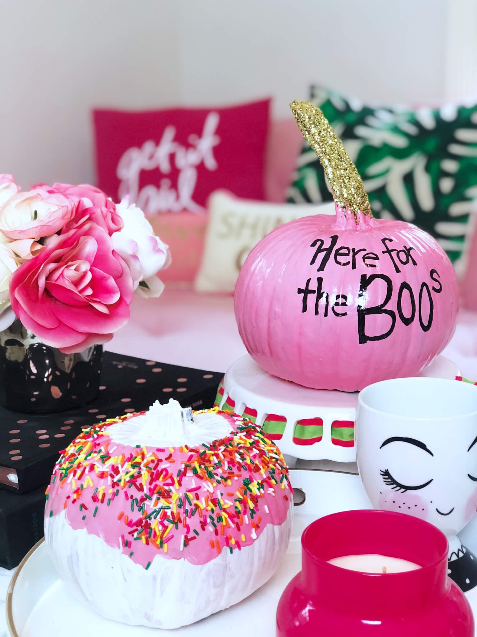 Quick, Cute \u0026 Chic Pumpkin Painting Ideas for Halloween!