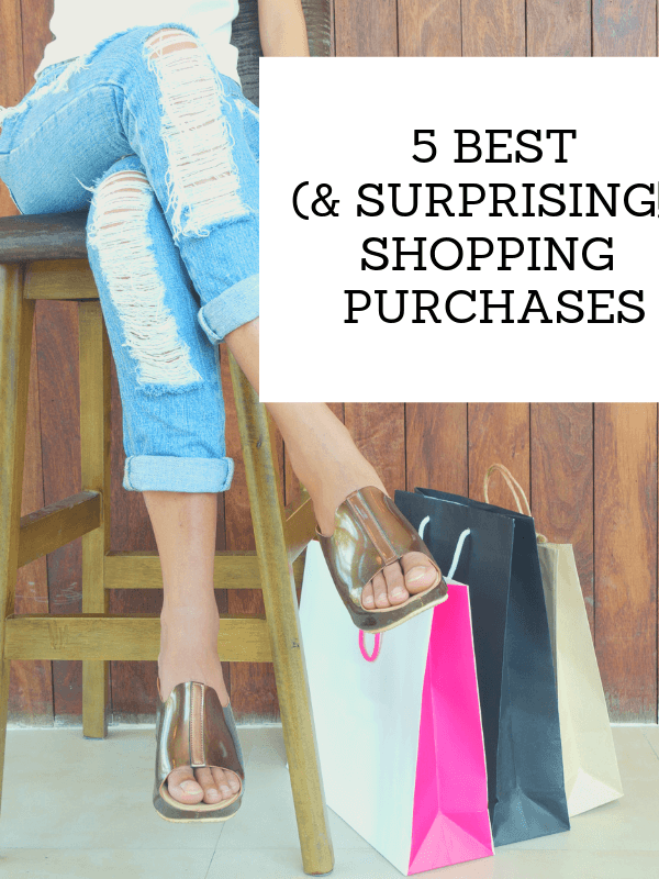 The 5 Best (& Surprising!) Shopping Purchases this Month!