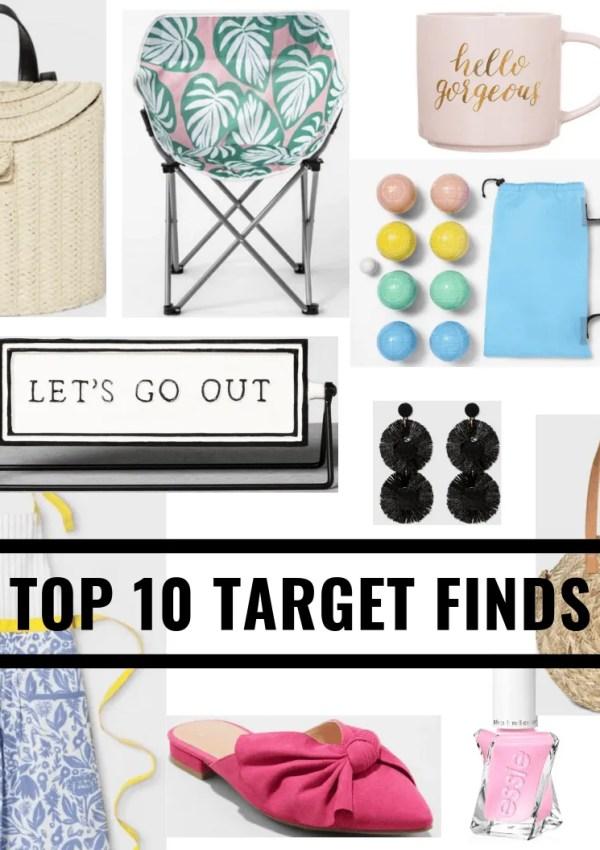 10 TOP Things to Buy at Target (in my cart RN!)
