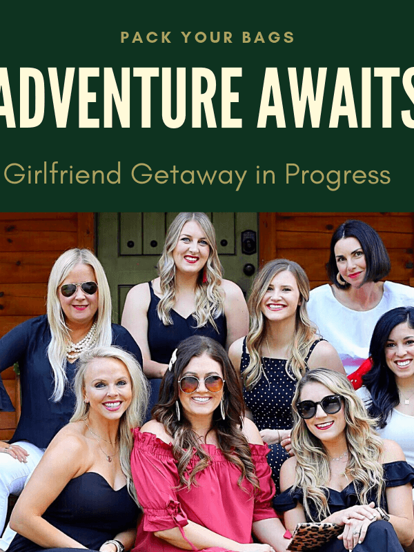 Pack Your Bags! Girlfriend Getaway in Progress…