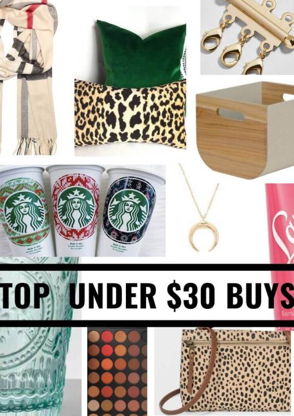 "It's an ""Add to Cart"" Shopping Day (all under $30!)"
