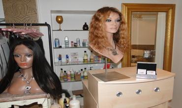 salon lace wig glam hair