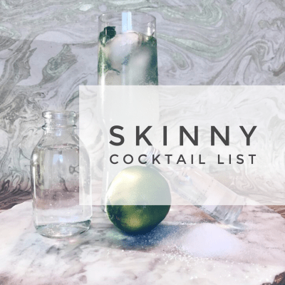Skinny Summer Cocktails
