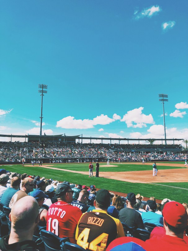 Spring Training Mariners Game