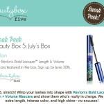 Beauty Box 5 July 2014 Sneak Peek