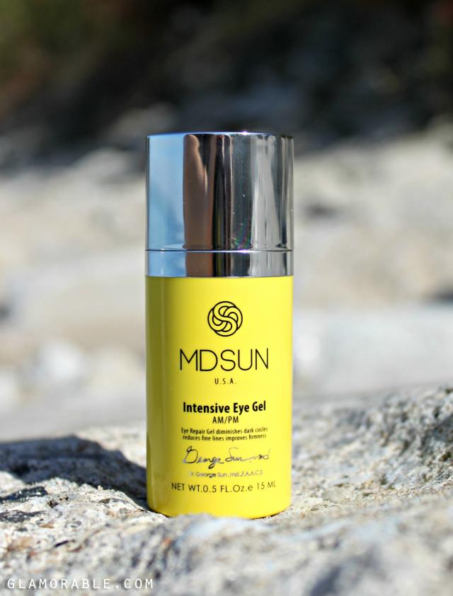 MDSUN Skincare Super Hydration B Serum & Intensive Eye Gel review >> http://ow.ly/FkyQV   via @glamorable