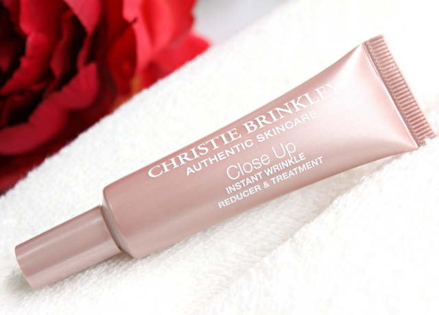 Find out what makes Christie Brinkley Close Up Instant Wrinkle Reducer & Treatment an interesting and unique beauty tool to have in your skin care arsenal >> https://glamorable.com | via @glamorable