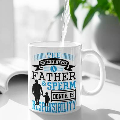 father figure glossy mug